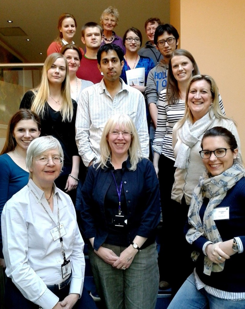 Some of the participants of King's College in vitro Blood-Brain Barrier Cell Culture Course.